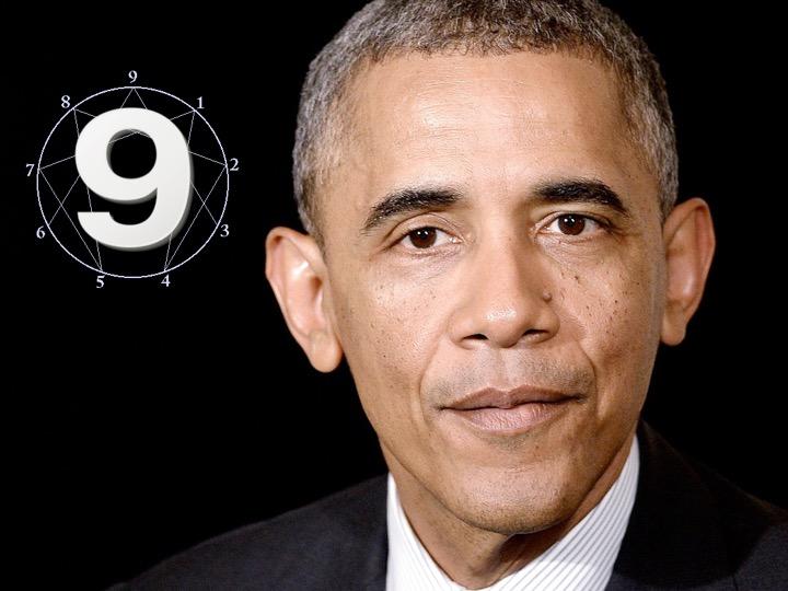 Barack Obama – Type 9