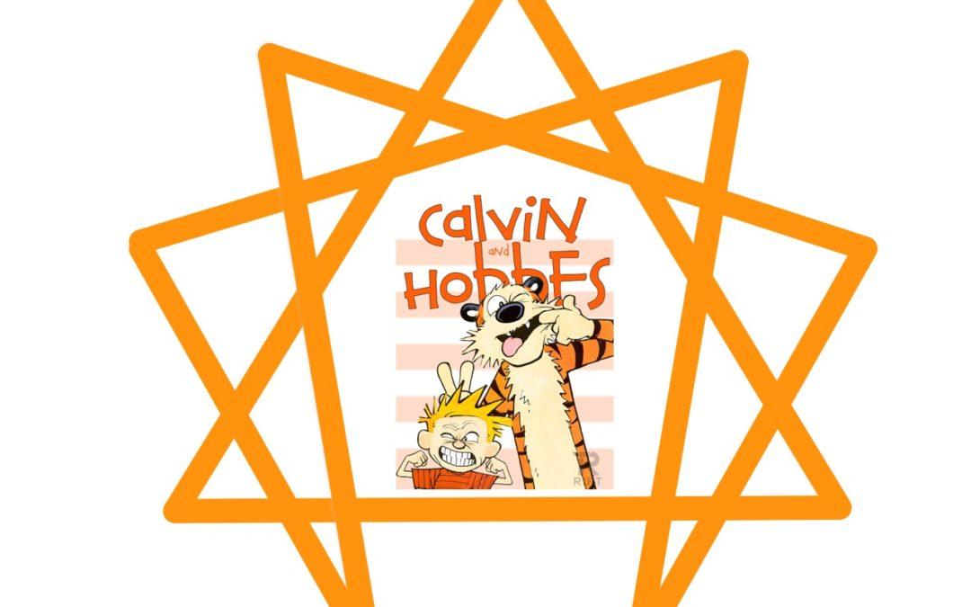 Calvin & Hobbes Enneagram